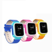 SmartWatch Q60 For Kids With Gps / Smart Watch Q60 Jam Tangan Pink