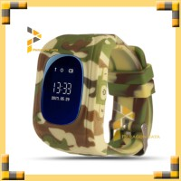 Smartwatch Q50 / Q50 Smart Watch for Kids with Jam GPS - Army Brown