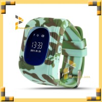 Smartwatch Q50 / Q50 Smart Watch for Kids with Jam GPS - Army Green