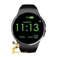 Smart Watch KW18 Heart Rate / Smartwatch KW18 Sim Android IOS Black
