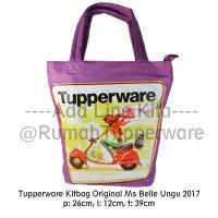 Tupperware Tas Original Kitbag Miss Belle Indonesia (2017) UNGU