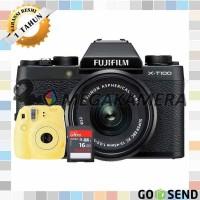 Fujifilm X-T100 Kit 15-45mm Fuji XT100 Mirrorless
