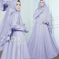 Syari Zada aj Gamis Maxi Dress Muslim Fashion Trendy