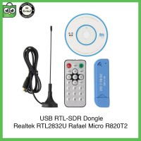 USB RTL-SDR Dongle Software Defined Radio RTL2832U R820T2