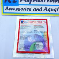 DSM Carophyll pink pewarna bubuk ikan pelet asli original DSM Aquarium