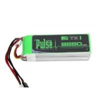 Pulse Lipo Battery 3S 2550mAh 11.1 TX (PLUTX-25503)