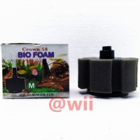 Bio Foam MEDIUM Breeding Filter Crown Aquarium Aquascape Sponge