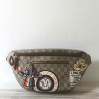 26ba89845c9c Sale Tas Pria Gucci Bumbag Beltbag GG Supreme Mirror VIP