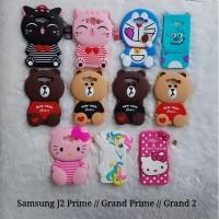 CASE GRAND PRIME / J2 PRIME / GRAND 2 SAMSUNG CASE BONEKA 3D KARAKTER