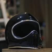 Helm Cross Bone Full Face Klasik Hitam