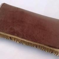 Sajadah Warna Coklat tua Polos Empuk busa tebal 1 cm