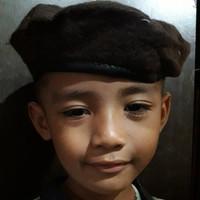 Topi baret pramuka buat anak laki-laki