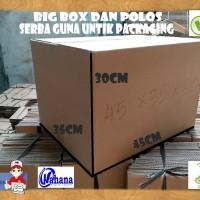 Kardus/Box/Karton Polos UK45x35x30