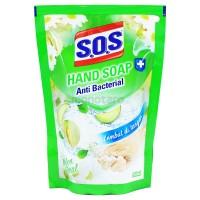 SOS HAND SOAP MELON FRESH REFIL 300ML