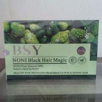 Shampo NONI BSY Black Hair Magic ASLI Original 100