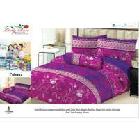 Bed Cover Set Sprei Lady Rose Size King Paloma Berkualitas