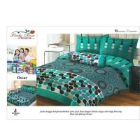 Bed Cover Set Sprei Lady Rose King 180 x 200 cm Oscar Berkualitas