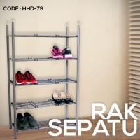 Rak Sepatu 5 Tingkat Shoe Rack Furniture Perabotan