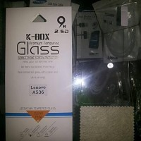 Best anti gores kaca lenovo A536 ( tempered glass, screen protector,