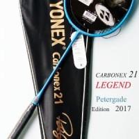 Raket Yonex Carbonex 21 BIRU LEGEND PETERGADE Edisi SP PROMO