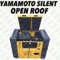 Yamamoto Genset 6500 Watt Diesel Silent - YM9000SE DISKON