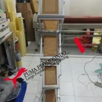Rak Brosur Meja Acrylic Serbaguna Portable Lipat 7 Susu DISKON