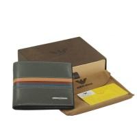 Dompet kulit pria import premium branded giorgio armani - 302 gray
