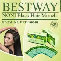 Shampo BSY Noni Black sashet - Shampo penghitam rambut sashetan