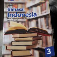 Buku Bahasa Indonesia kelas XII Wajib Kur 2013 REV PENERBIT facil Graf