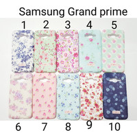 Case Ultrathin CK Flower For Samsung Grand Prime / Softcase G530