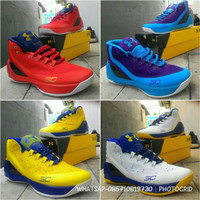 6e40c0faf7e Jual sepatu basket under armour curry 3 middle ringan anti licin   awet  Murah