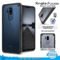 Ringke Fusion LG G7 ThinQ Case SMOKE BLACK Rearth PC TPU ORIGINAL