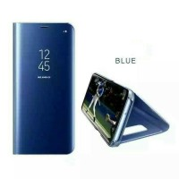 Stand Mirror Flip Clear Samsung Galaxy J7 Duo Auto Lock Case/Casing