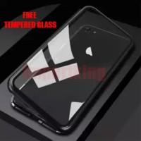 Iphone 6/6s Premium 2 in 1 magnetic phone case - Transparant
