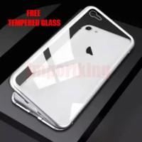 Iphone 7/7s Premium 2 in 1 magnetic phone case - Transparant