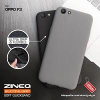 Softcase TPU ZINEQ Gell Ultra Slim Cover Case Casing HP Oppo F3/A77