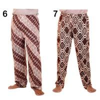 celana panjang batik murah bahan katun motif 6 dan 7