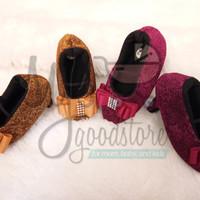 Jual Prewalker/Sepatu High Heels Bayi Perempuan Handmade Premium Murah