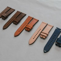 Jual tali jam tangan kulit (handmade leather strap watch) Murah