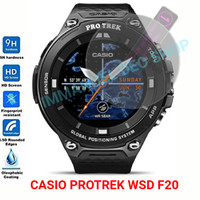Tempered Glass Smartwatch Protrek WSD F20