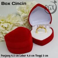 Jewelry Box - Kotak Tempat Perhiasan Aksesoris Xuping Cincin Love