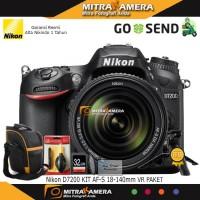 Nikon D7200 Kit AF-S 18-140mm VR DSLR Paket