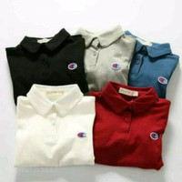 Polo shirt kaos kerah pria champion