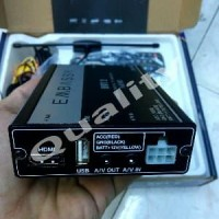 tv tuner buat mobil digital embasy DVB T2 full HD usb hdmi