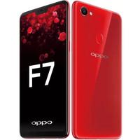 HP OPPO F7 2018 RAM 4GB - INTERNAL 64GB - GARANSI RESMI 1 TAHUN