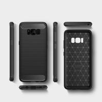 Carbon Fiber Slim Soft Case Samsung Galaxy J1 J2 J3 J5 2016 Pro 2018