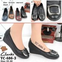 Jual Sepatu Clarks Wanita Original Terbaru 2018 - Harga Murah ... fd46719571