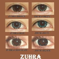 Softlens X2 ZUHRA Soft Lens EXOTICON HALAL MUI MADE IN KOREA