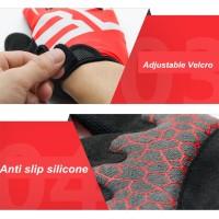 Harga termurah boodun sarung tangan sepeda motor full cover size l | antitipu.com