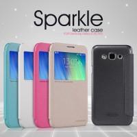 SAMSUNG Galaxy E7 Flip Cover NILLKIN Sparkle Case